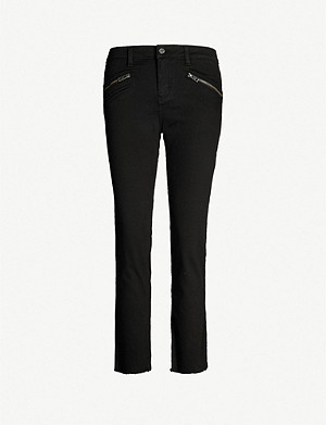 ZADIG&VOLTAIRE Ava raw-hem skinny high-rise jeans
