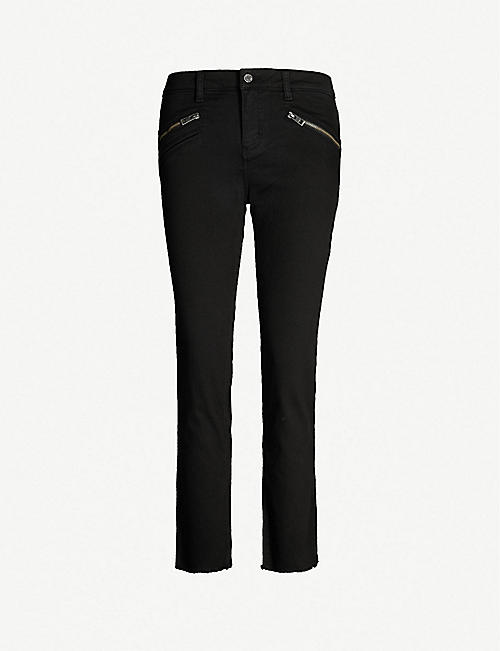 ZADIG&VOLTAIRE: Ava raw-hem skinny high-rise jeans
