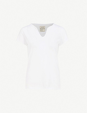 ZADIG&VOLTAIRE Tunys V-neck cotton-jersey T-shirt