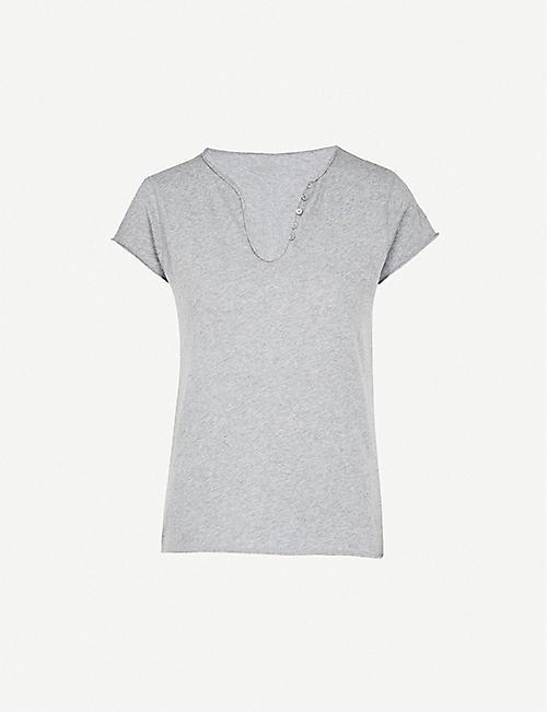 ZADIG VOLTAIRE Tunisien cotton-jersey T-shirt 6da9fea7126