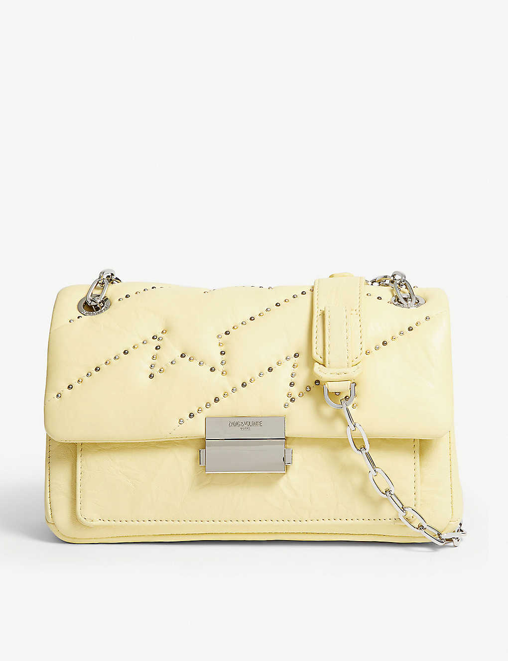 ZADIG&VOLTAIRE: Ziggy leather shoulder bag