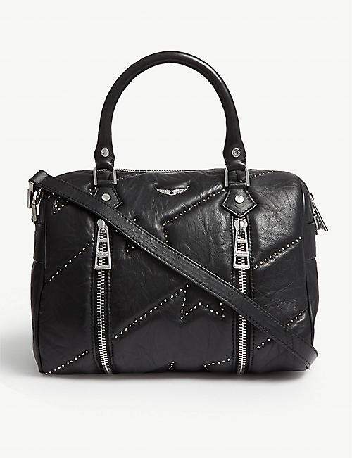 ZADIG&VOLTAIRE Sunny small leather bowling bag