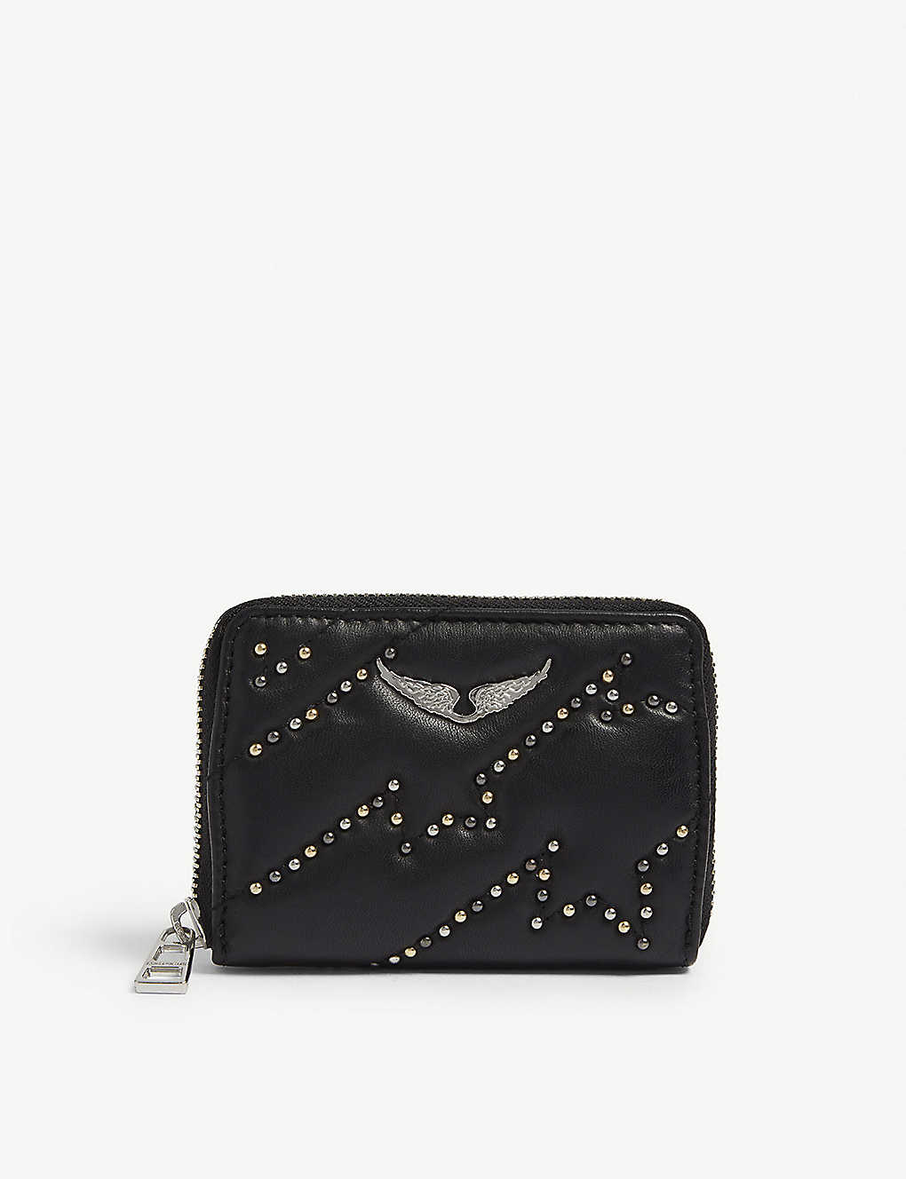 72bf50c91a ZADIG&VOLTAIRE - Mini Zv studded leather wallet | Selfridges.com