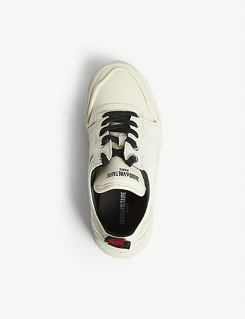 ZADIG&VOLTAIRE Blaze leather trainers