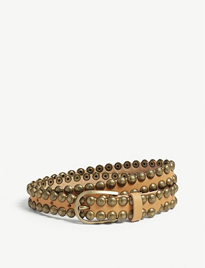 ZADIG&VOLTAIRE Sea studded leather belt