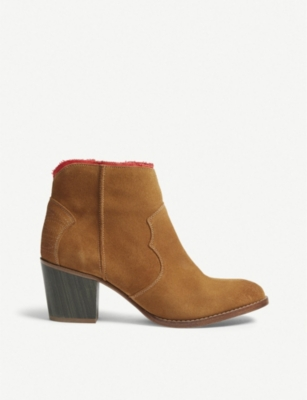 ZADIG&VOLTAIRE Molly suede ankle boots