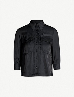 ZADIG&VOLTAIRE Toast crepe shirt