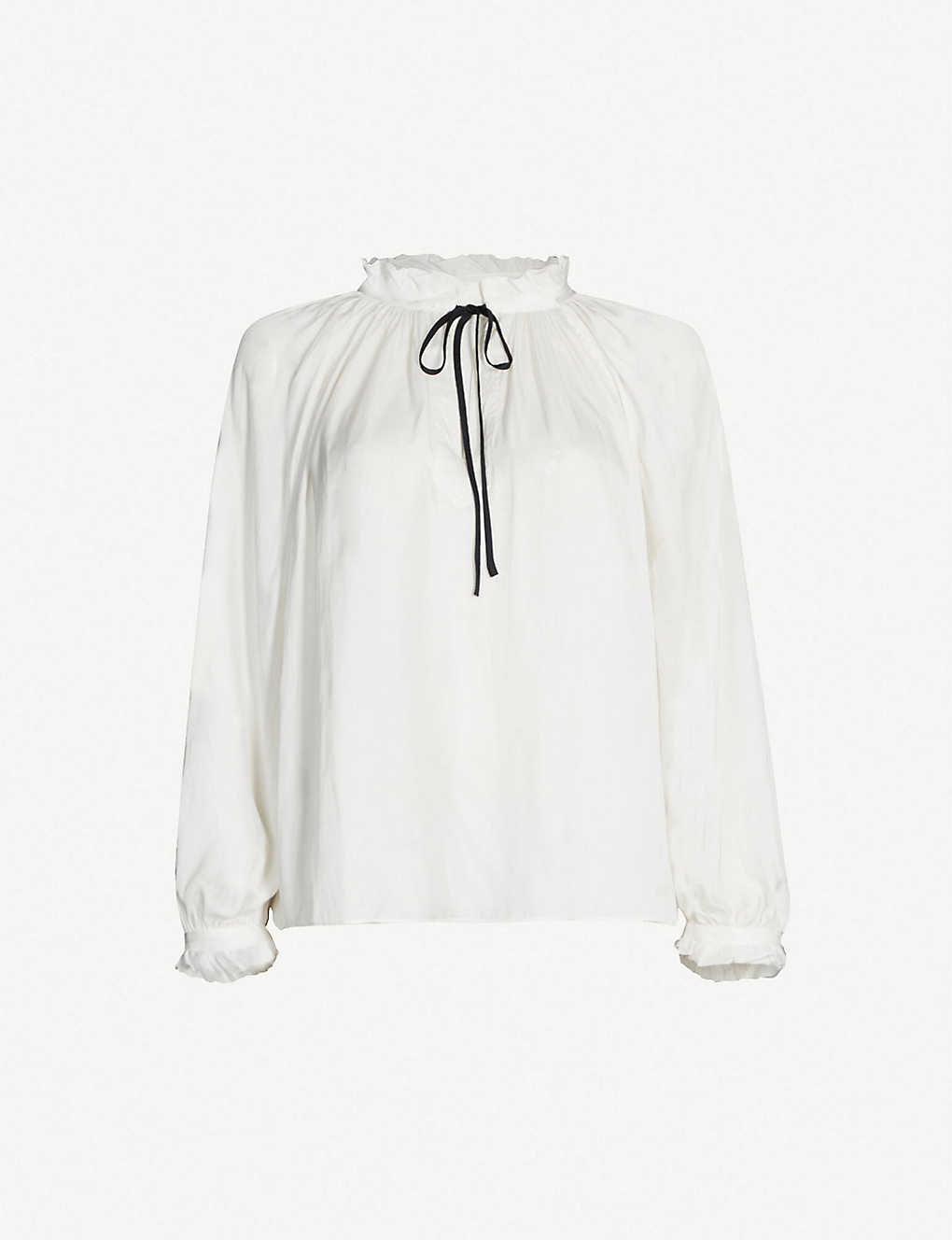 ZADIG&VOLTAIRE: Theresa satin blouse