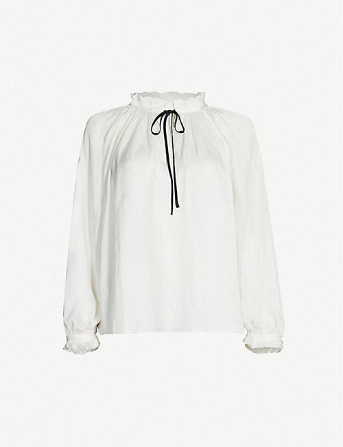 ZADIG&VOLTAIRE Theresa satin blouse