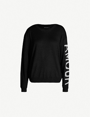 ZADIG&VOLTAIRE Kansas Amour wool-blend sweatshirt