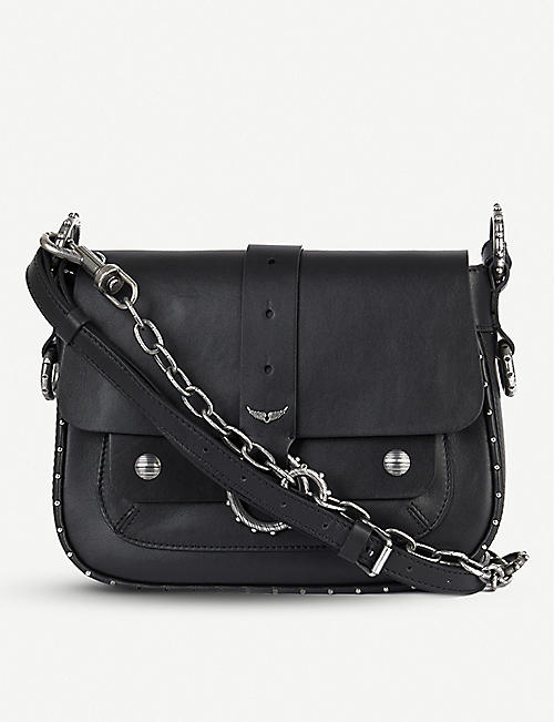 ZADIG&VOLTAIRE Kate studded leather cross-body bag