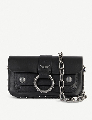 ZADIG&VOLTAIRE Kate Wallet studded leather cross-body bag