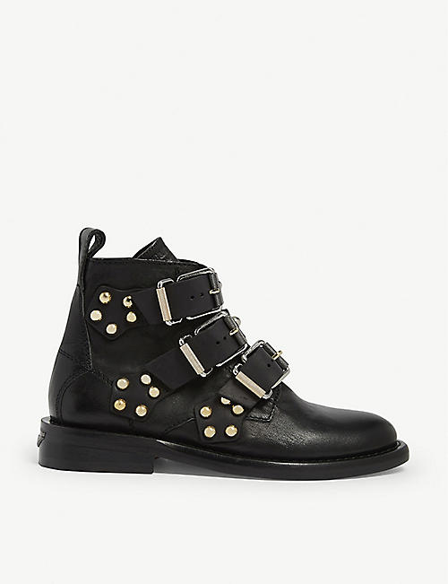 ZADIG&VOLTAIRE Laureen studded leather ankle boots
