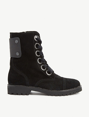 ZADIG&VOLTAIRE Suede Joe ankle boots