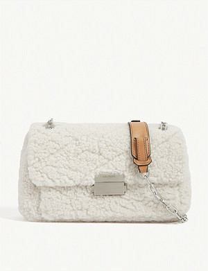ZADIG&VOLTAIRE Ziggy shearling shoulder bag