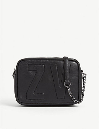 ZADIG&VOLTAIRE: Boxy XS leather cross-body bag