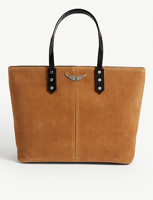 ZADIG&VOLTAIRE Suede Mick shoulder bag