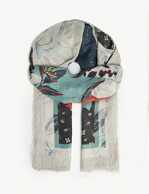 ZADIG&VOLTAIRE Maxy Patchwork Paradise modal scarf