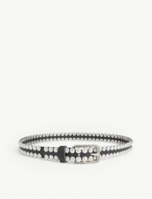 ZADIG&VOLTAIRE Studded leather belt