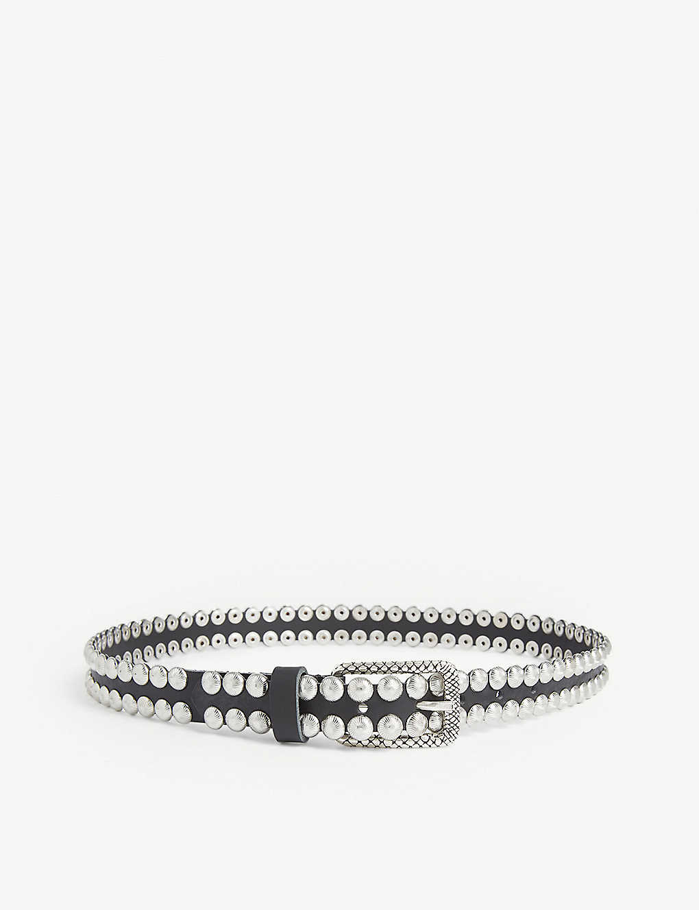 ZADIG&VOLTAIRE: Studded leather belt
