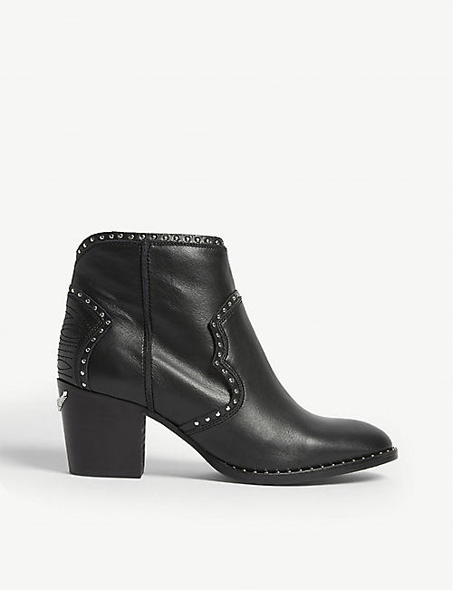 ZADIG&VOLTAIRE Molly leather ankle boots