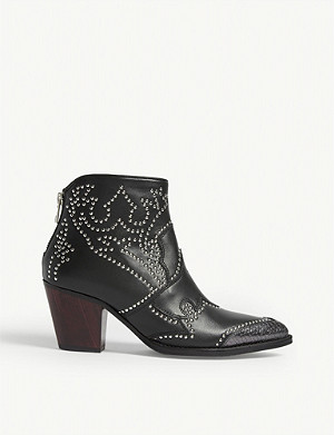 ZADIG&VOLTAIRE Cara leather ankle boots