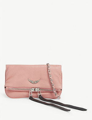ZADIG&VOLTAIRE Rock Nano leather clutch