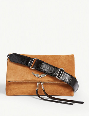 ZADIG&VOLTAIRE Rocky suede shoulder bag