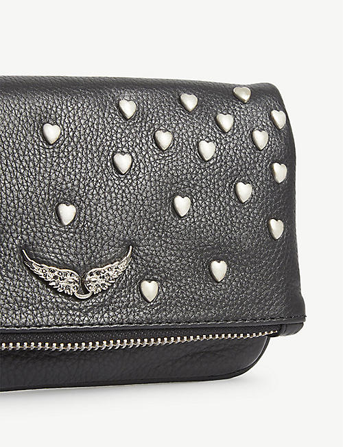 ZADIG&VOLTAIRE Rock mini leather clutch