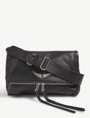 ZADIG&VOLTAIRE Rocky leather shoulder bag