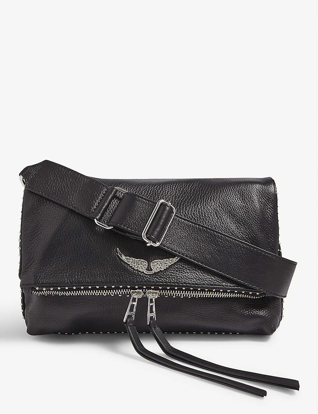 ZADIG&VOLTAIRE: Rocky leather shoulder bag
