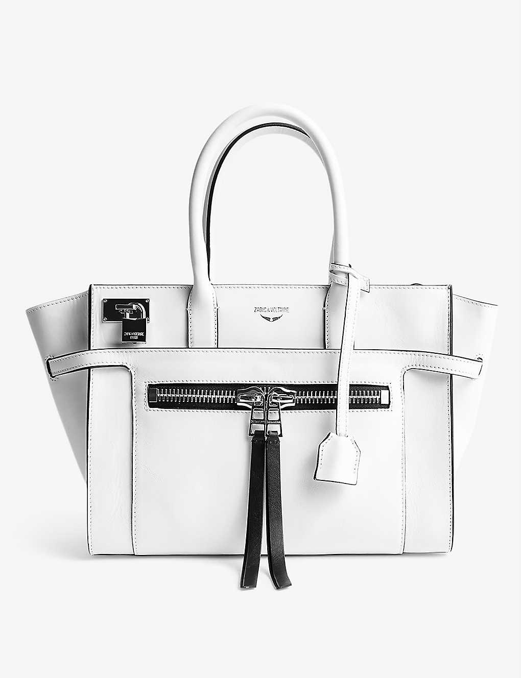 ZADIG&VOLTAIRE: Medium Candide leather tote bag