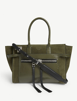 ZADIG&VOLTAIRE Medium Candide leather tote bag