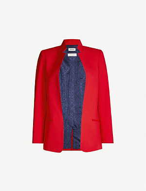 ZADIG&VOLTAIRE Volly single-breasted crepe jacket