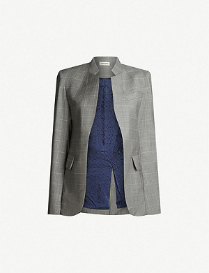 ZADIG&VOLTAIRE Very checked wool-blend blazer