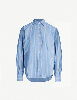 ZADIG&VOLTAIRE Tais Rayee striped cotton shirt