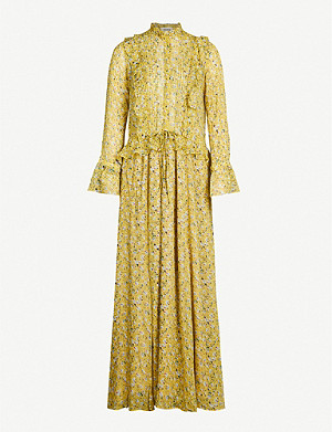 ZADIG&VOLTAIRE Roma anemone ruffled floral-print chiffon maxi dress