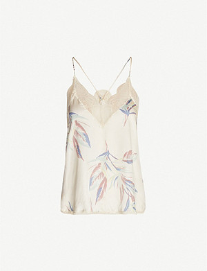 ZADIG&VOLTAIRE Christy Paradise woven camisole top