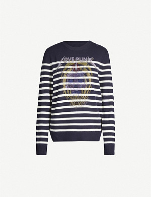 ZADIG&VOLTAIRE Jeremia merino-wool embellished jumper