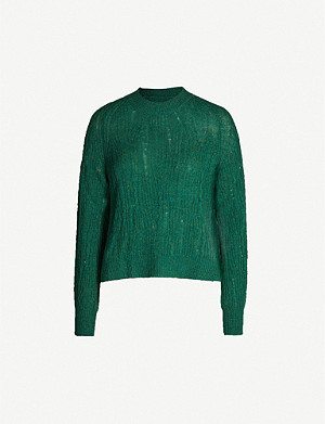 ZADIG&VOLTAIRE Destroy distressed cashmere jumper