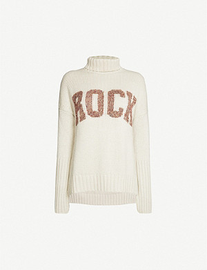 ZADIG&VOLTAIRE Rock-print knitted jumper