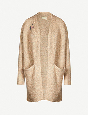 ZADIG&VOLTAIRE Marilou Cop open-front knitted cardigan