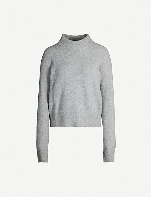 ZADIG&VOLTAIRE Eva high-neck cashmere-blend jumper