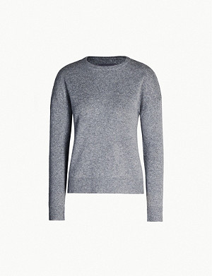 ZADIG&VOLTAIRE Cici Patch star-patch cashmere jumper
