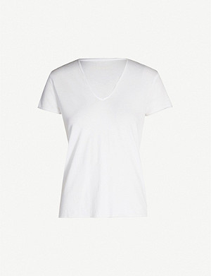 ZADIG&VOLTAIRE Eagle-back cotton-jersey T-shirt