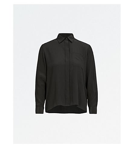 d121d0f1cf51a MAJE - Cela silk shirt
