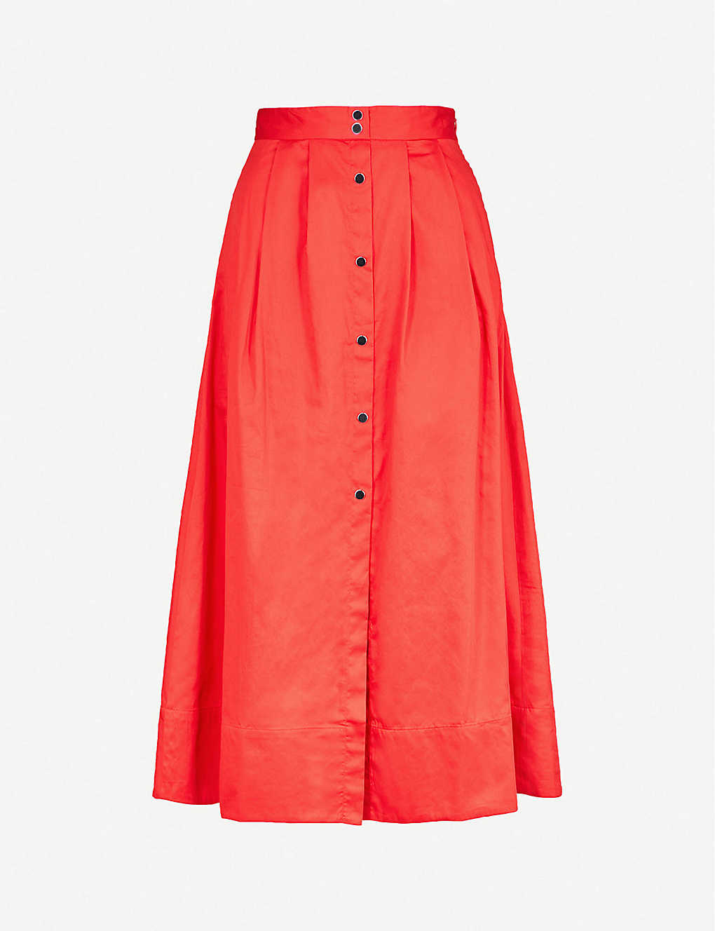 ac51471d4f0d2 MAJE - Jupalo cotton midi skirt | Selfridges.com
