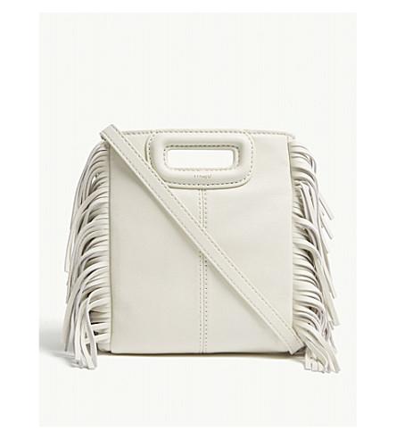 ... MAJE M small leather cross-body bag (White. PreviousNext 9a1e69b87de4b