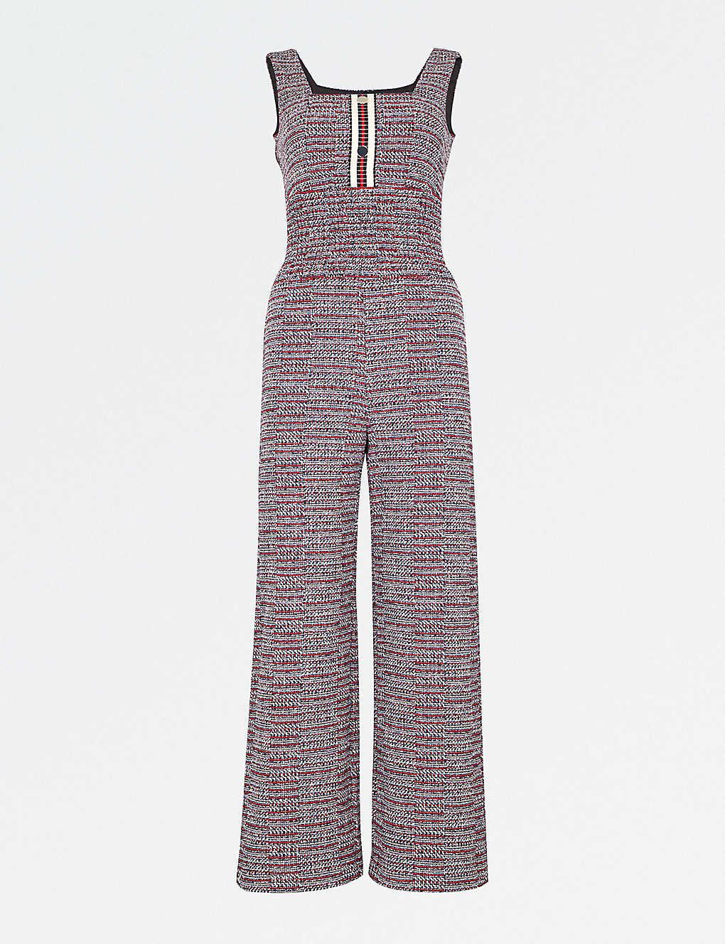 177fc23d2e MAJE - Flared tweed jumpsuit