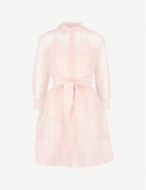 fe2e54766894 MAJE - Revani organza shirt dress